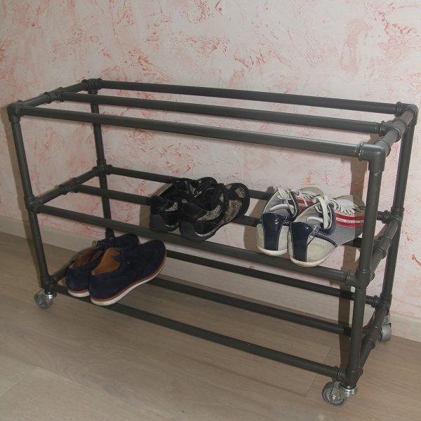 Купить в прихожую обувницу в стиле лофт